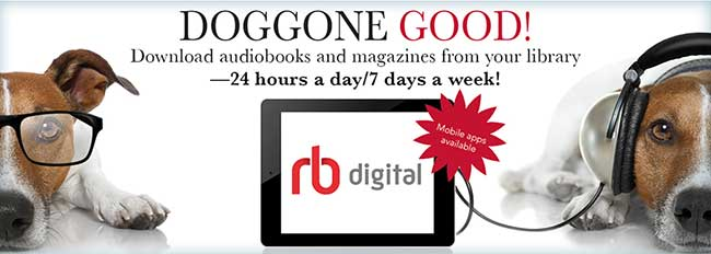 RBdigital e-audiobooks information