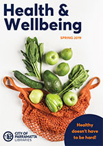 2019 Health Month booklet cover image