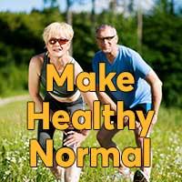 Make Healthy Normal website